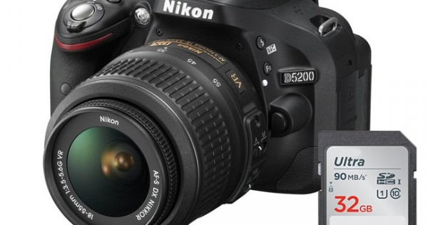 Nikon D5200 Dslr Camera With 18 55mm Lens Kits In Canada